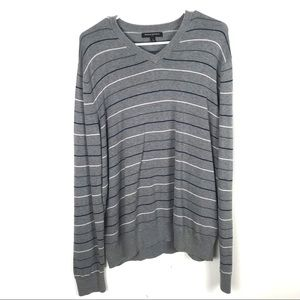 Banana Republic Large Striped Pull Over Sweater